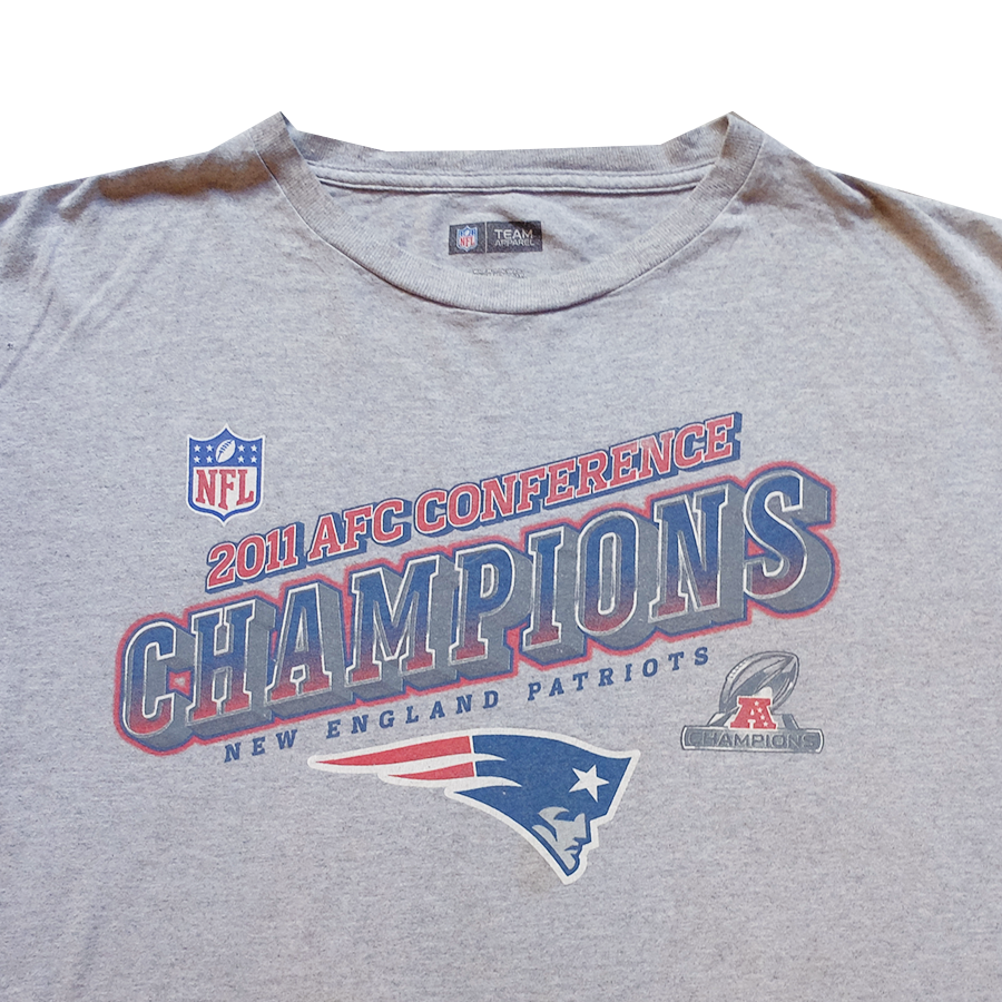 2011 NFL AFC Conference Champions New England Patriots Tee - XL