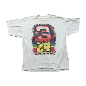 Dale Earnhardt Jr. Run With The Best or Die Like The Rest Racing Tee - XL