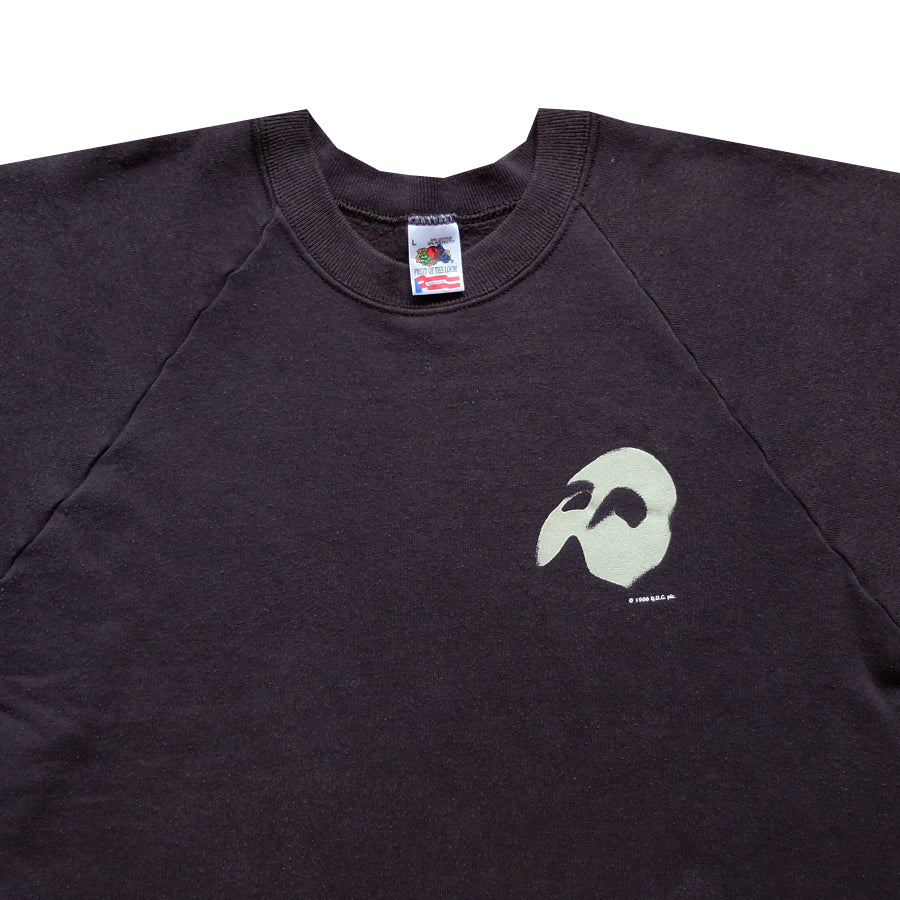 1986 The Phantom of the Opera Crewneck Sweater - L