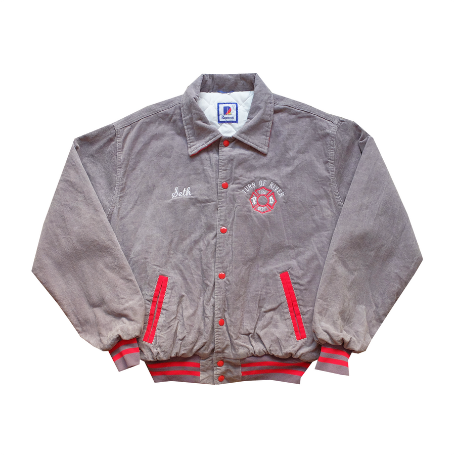 Turn of River Fire Department Corduroy Jacket - XL