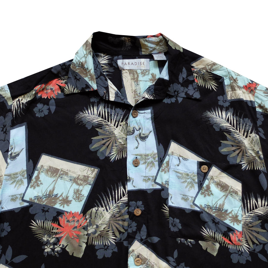 Paradise by Axis Hawaiian Shirt - M