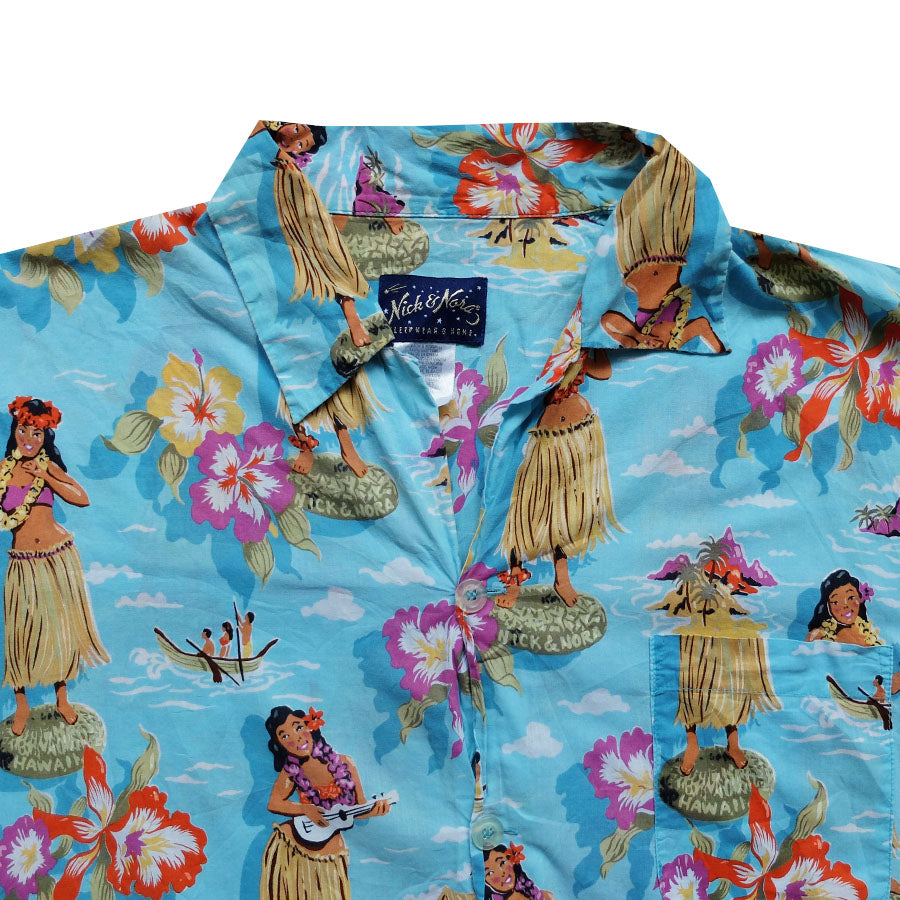 Nick & Nora Hawaiian Shirt - L