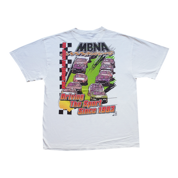 MBNA Driving the Sport Since 1983 NASCAR Racing Tee - XL