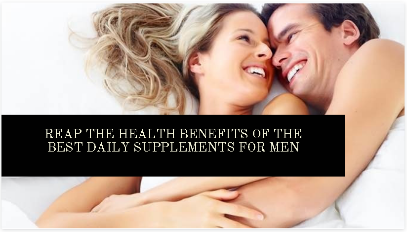 Best Daily Supplements for Men