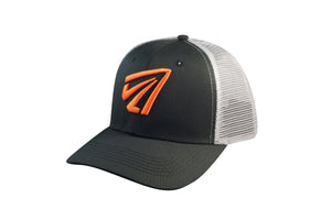 'Bowhunter' Snapback - Black/Orange