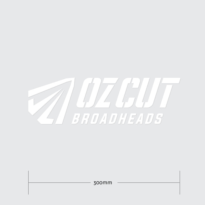 Ozcut logo Vehicle Decal - 300mm