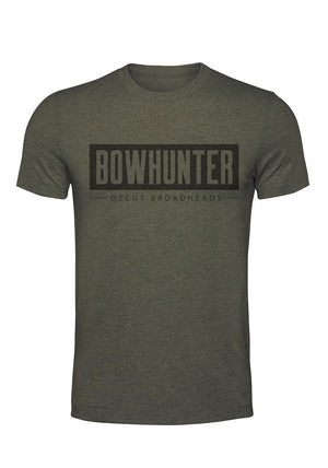 Bowhunter Tee - Khaki Green