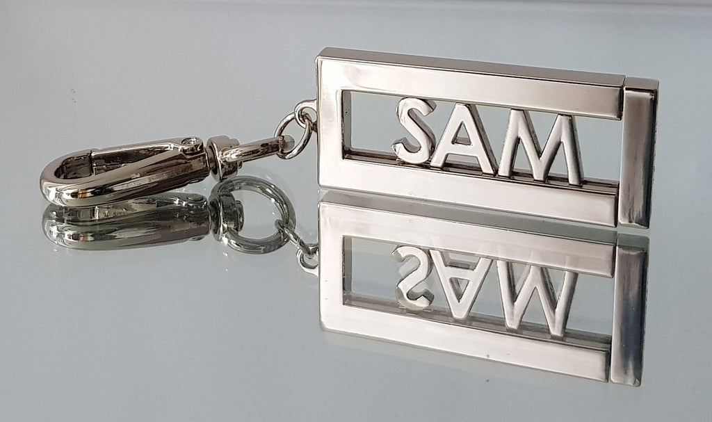 Silver Keyring reflection