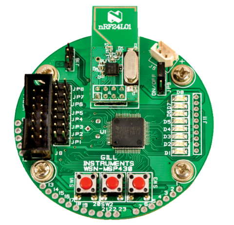 Wireless Sensor Network WSN- MSP430