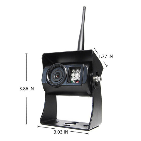 "Simplesight™ Wireless Backup Camera System | 7"" Display With Wired Side Camera Inputs -1036"