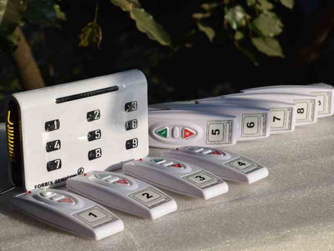 Wireless calling system- 9 Remotes -1023