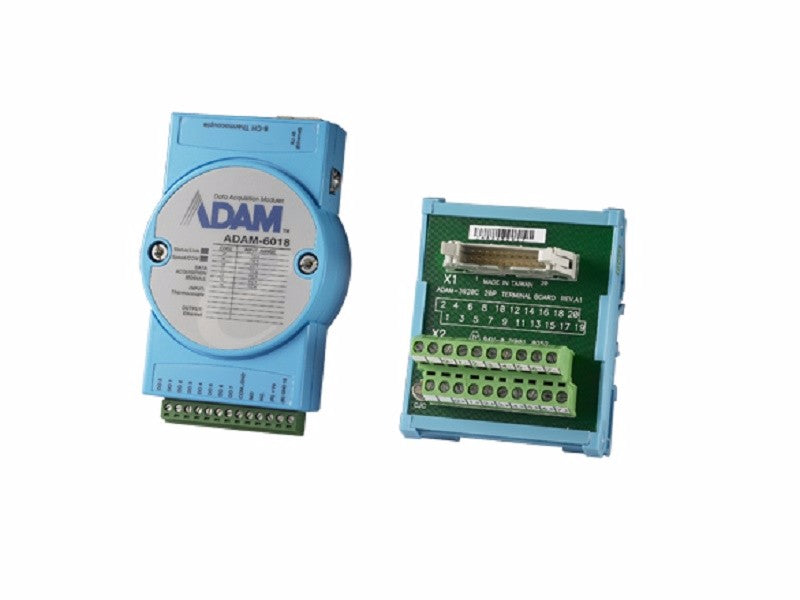8-ch Isolated Thermocouple Input Modbus TCP Module with 8-ch DO - ADAM 6018 -1002
