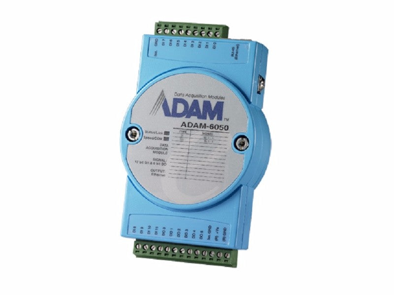 18-ch Isolated Digital I/O Modbus TCP Module - ADAM 6050 - 1002