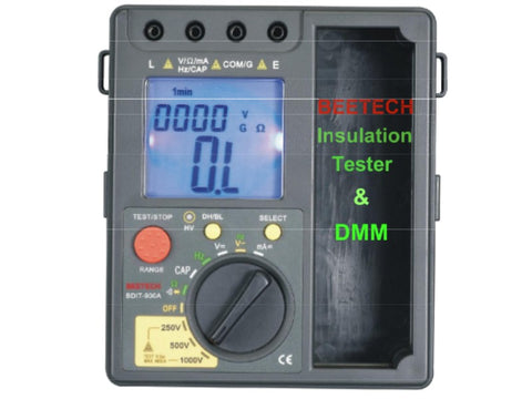 Insulation Tester and Multimeter BDIT-900A- 1056