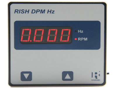 Frequency Meter - RISH DPM Hz