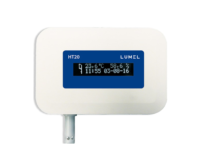 Temperature and Humidity Monitor with Ethernet and PoE-HT20 1038