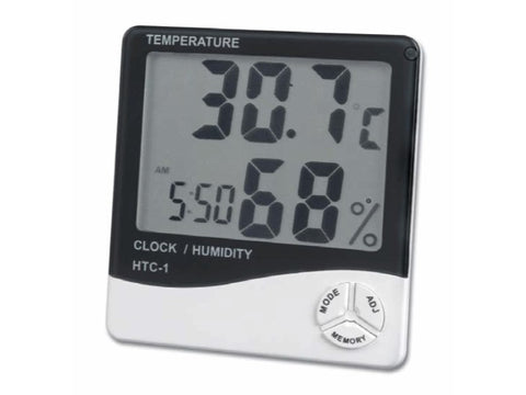 Digital Temperature and Humidity Meter HTC-01 1028
