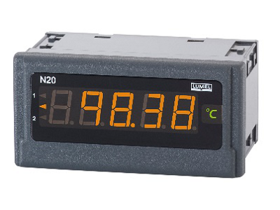 Digital Panel Meter with Tri Colour display  for DC Parameters-N20
