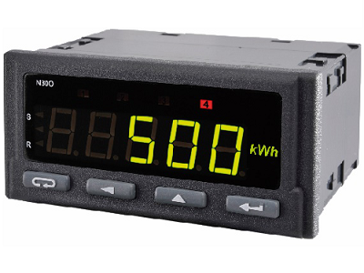 Advanced Pulse / Rotation / Period Input Tri-colour Digital Meter - N30O