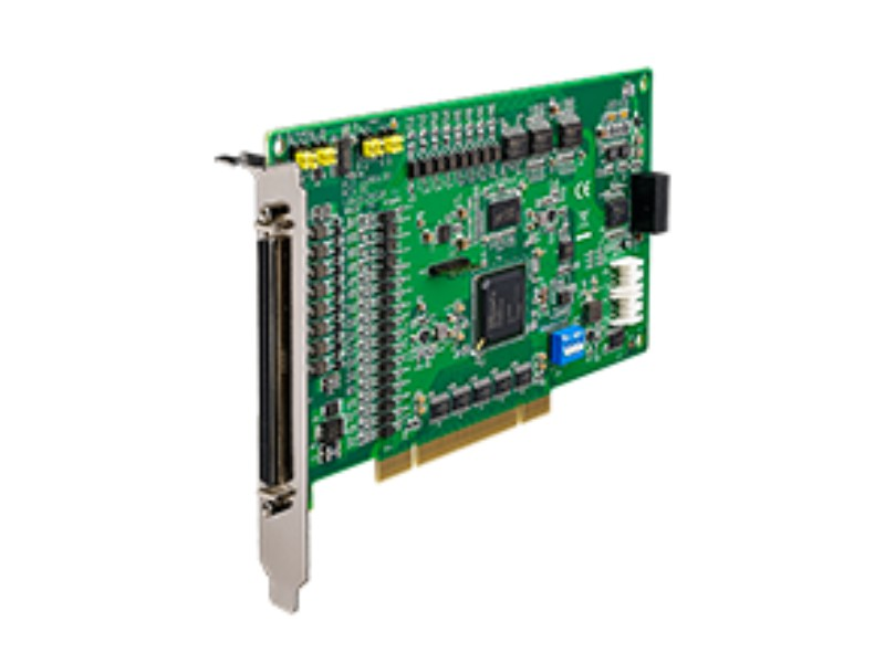 4-Axis Stepping and Servo Motor Control Universal PCI Card with I/O Extension  PCI-1245LIO - 1002