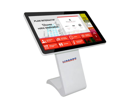 Information Touch Kiosk - Floor Mount - Size 55 inch 1044
