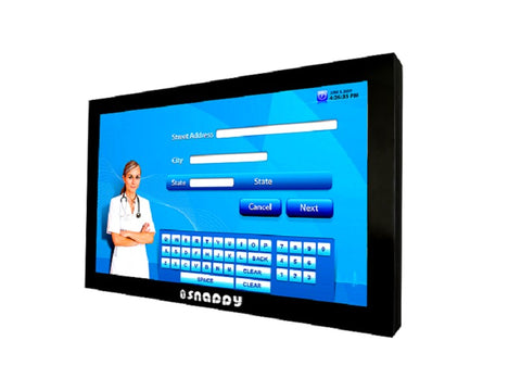 Interactive Touch Kiosk - Wall Mount - Size 65 inch 1044