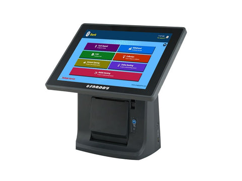 QMS Server with Ticket Dispenser - Size 12.1 inch