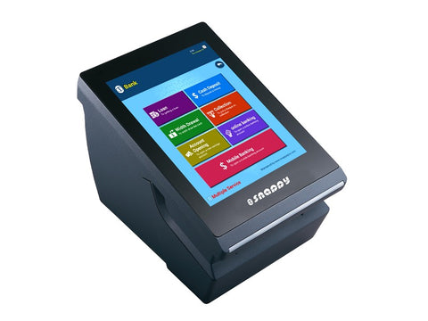 QMS Server with Ticket Dispenser - Size 8 inch