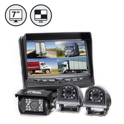 Camera System with Quad View Monitor - 1036