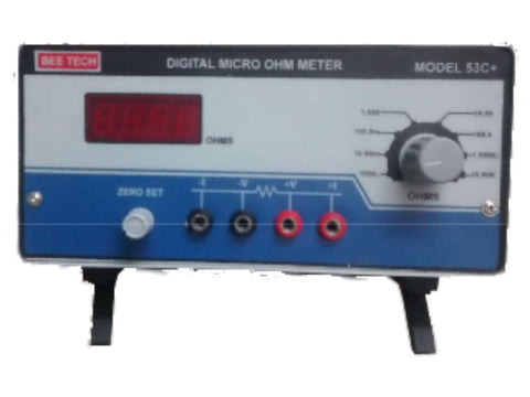 Digital  Micro-Ohms Meter 53C+   - 1056