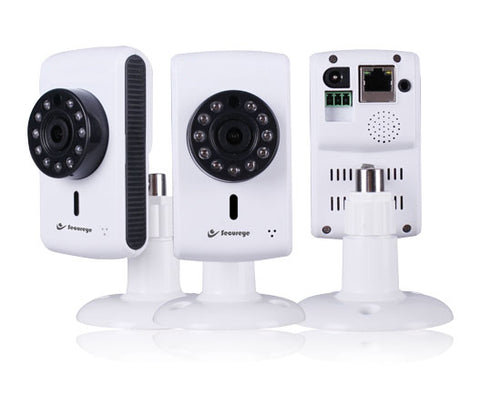 Pan/Tilt & Zoom Wifi Camera with TF Card storage & Alarm