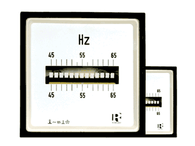 Vibrating Reed Frequency Meter (FQ) - 1038