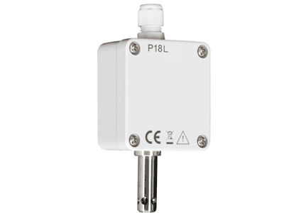 Temperature and Humidity Transducer with External Sensor - P18