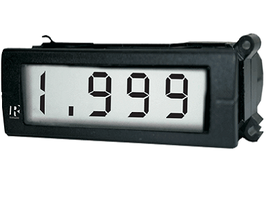 3 1/2 digit R Series AC/DC Digital Panel Meter - 1038