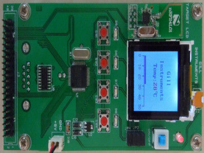 LCD Experiment Boards- MSP430 1025