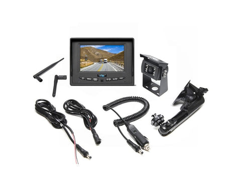"SIMPLESIGHT™ Wireless Backup Camera System with 5"" Monitor (Dual Channel) - 1036"