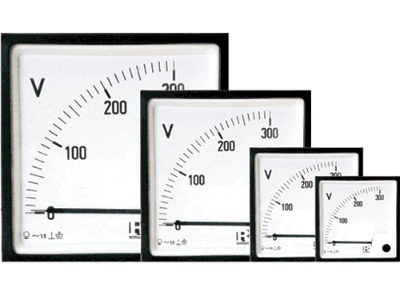 Moving Coil AC Voltmeters With Rectifier 90deg (VQ) - 1038