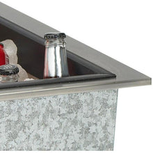 Bull 16-Inch Stainless Steel Built-In Outdoor Ice Chest - 00002