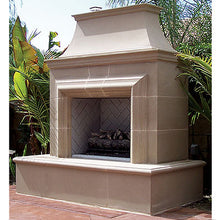 American Fyre Designs Reduced Cordova Vent-Free Outdoor Fireplace - 123-xx-N-xx-xxC