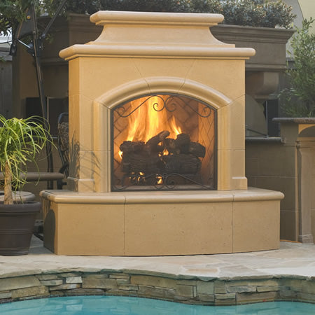 American Fyre Designs Mariposa Vented Outdoor Fireplace - 073-xx-N-xx-xxC