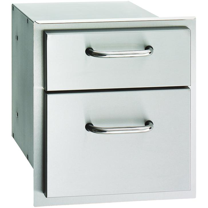 American Outdoor Grill 14-Inch Double Access Drawer - 16-15-DSSD