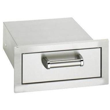 Fire Magic Premium Flush 14-Inch Single Access Drawer - 53801SC - The Garden District