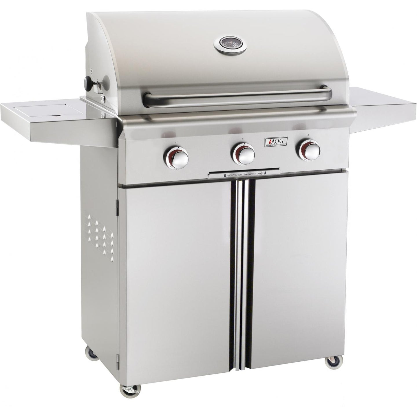 American Outdoor Grill T-Series 30-Inch 3-Burner Freestanding Grill - 30PCT-00SP