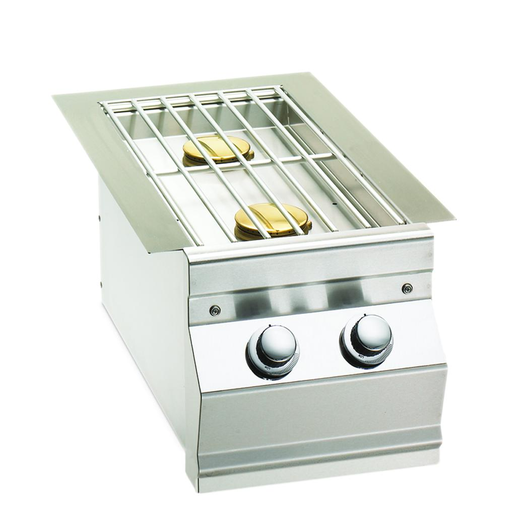 Fire Magic Propane Gas Built-in Double Side Burner - 3281P - The Garden District