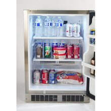 Fire Magic 24-Inch 5.1 Cu. Ft. Right Hinged Outdoor Built-In Refrigerator - Stainless Steel - The Garden District