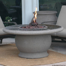American Fyre Designs Amphora Firetable With Granite Insert - 611-xx-21-V2xC