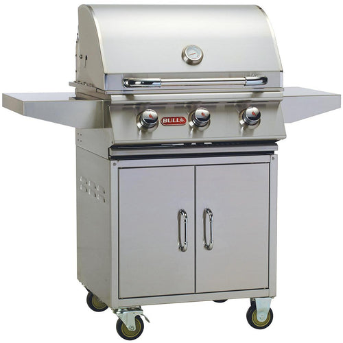 Bull Steer Premium 25-Inch 3-Burner Natural Gas Grill - 69101/2