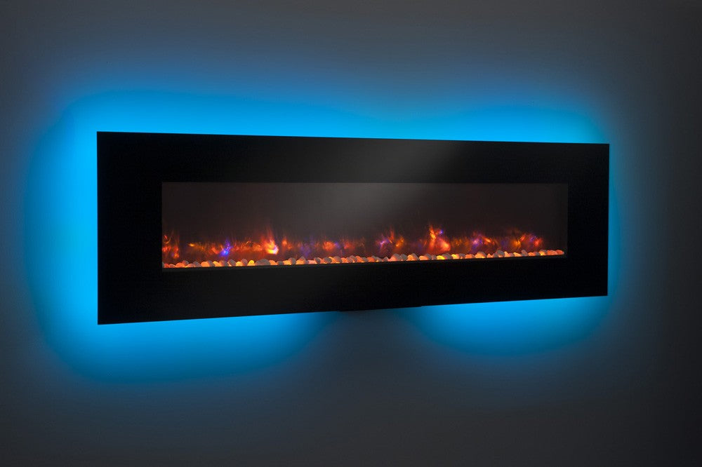 Outdoor Greatroom Gallery Collection Linear Electric Fireplaces With LED Lights - GE-50/58/70/94