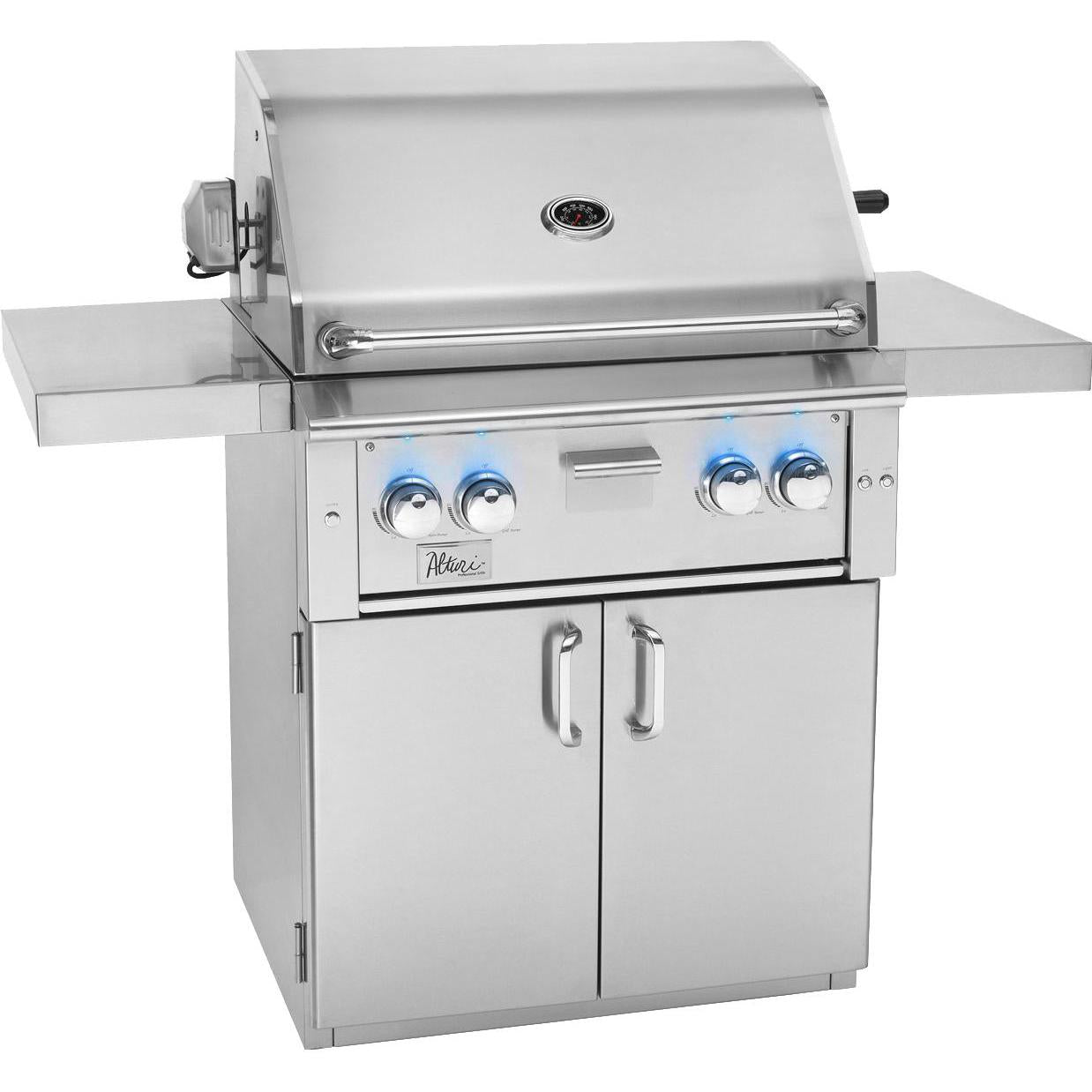 Summerset Alturi 30-Inch 2-Burner Freestanding Gas Grill With Stainless Steel Burners & Rotisserie - ALT30-LP