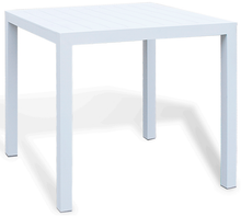Alu Slat Dining and Bar Tables
